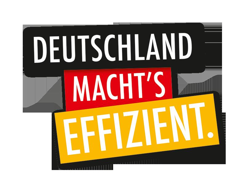 Deutschland machtÄs Effizient.